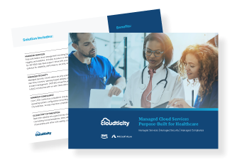Learn About Cloudticity Oxygen, Our Managed Cloud Solution Purpose-Built For Healthcare