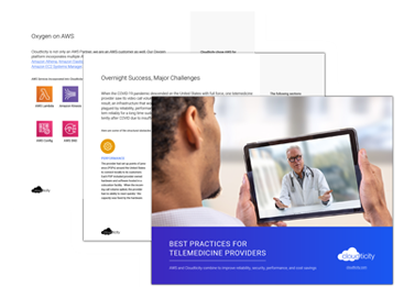 Best Practices for Telemedicine Providers on AWS